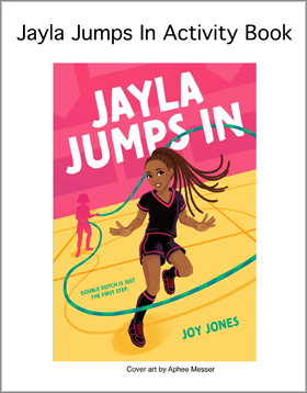 Jayla Jumps In Activity Book